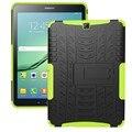 Броня Чехол для Samsung Galaxy Tab S2 9.7 Дело Kickstand Хен Кремния крышка для Samsung Tab S2 9.7 Случае T815 T810 T813N T819N
