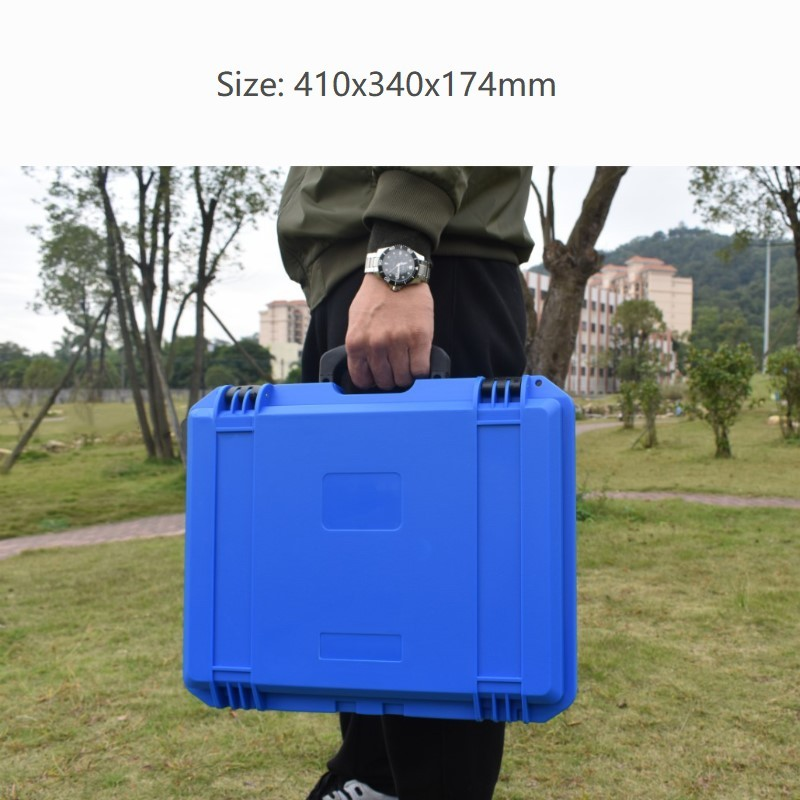 Portable Equipment Box Multi-purpose Waterproof Safety Toolbox Plastic Instrument Box Impact Resistance Case With Sponge