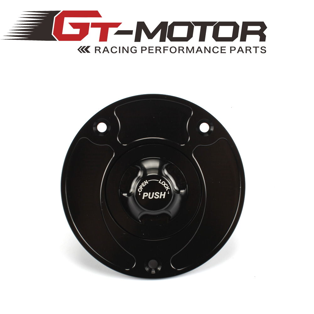 GT Motor - Motorcycle New CNC Aluminum Fuel Gas CAPS Tank Cap tanks Cover With Rapid Locking For SUZUKI GSF 650 1250 S (Bandit) cnc keyless fuel tank gas cap for suzuki sv650 sv650s 2003 2010 gsf 650 1250 s bandit gsx650f 2008 2010