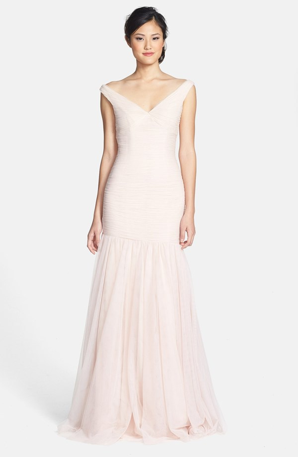 Pink Mermaid Wedding Gowns Promotion-Shop for Promotional Pink ...