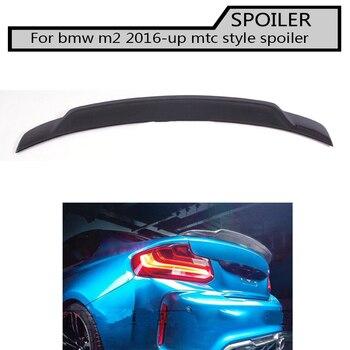 ألياف الكربون الجناح الخلفي المفسد لسيارات BMW F22 F87 M2 كوبيه 14-17 220i 228i M235i MTC الرياضة سيارة نمط