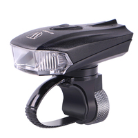 Wheel Up Bicycle Head Light Bike Intelligent LED Front Lamp USB Rechargeable Cycling Warning Safety Flashlight