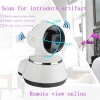 Камера видеонаблюдения Wifi ip-камера HD 720 P Камера Безопасности s беспроводная сеть видекам ночного видения широкоугольный