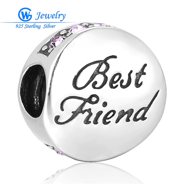 Best Friends Beads Charms DIY Christmas Gift Factory Wholesale European Brand GW  fine jewelry X091CH30