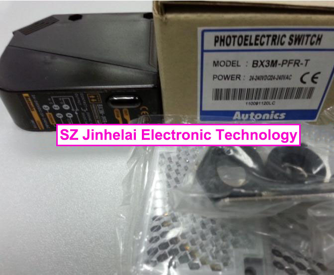 100% New and original  BX3M-PFR-T   AUTONICS  PHOTOELECTRIC SWITCH original otto nicks autonics photoelectric switch ben3m pfr