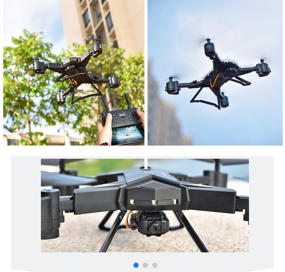 RC Helicopter KY601S Professional Drone with Camera HD 1080P WIFI FPV Quadcopter Drone Toys for Kids 15 Minutes Playing Time 15