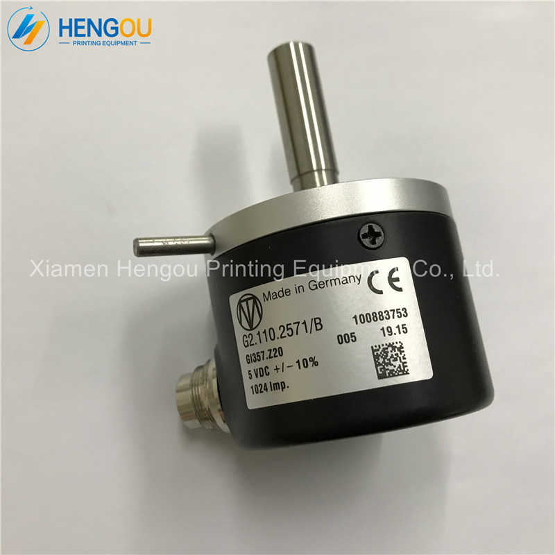 Offset printing machine parts angle encoder G2.110.2571/B for Heidelberg SM74 SM102 CD102 machine,G2.110.2571 made in china