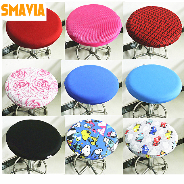 Incredible Us 6 5 Smavia Multi Color Optional Seat Cover Small Stool Cover Stool Chair Cover Small Round Stool Set Cover Diameter 33 35Cm 1Pc In Chair Cover Ncnpc Chair Design For Home Ncnpcorg