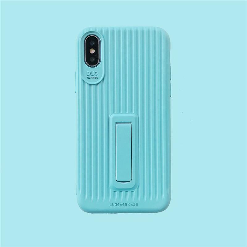 Image 2 - 2019 чехол для сотового телефона TPU для iPhone X XS Max XR 6 6S 7 8 Plus чехол ультра тонкий держатель чистый цвет для Apple Phone подарок-in Полуобернутый чехлы from Мобильные телефоны и телекоммуникации
