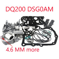DSG DQ200 0AM Accumulate Housing + Gearbox Overhaul Gasket Filter Rubber Ring Dirt proof Cover Kit For Audi Skoda 0AM325066AC