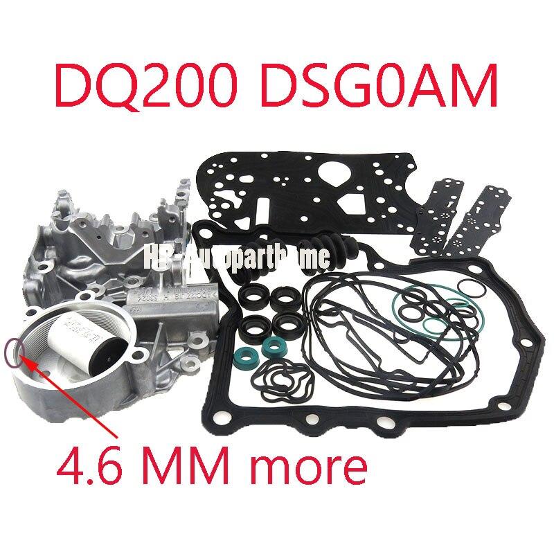 CHAUD Épais 4.8 MM DSG DQ200 0 SUIS 0AM325066AE 0AM325066R S'accumulent Logement Pour Audi Skoda 7 vitesse 0AM325066AC 0AM325066C