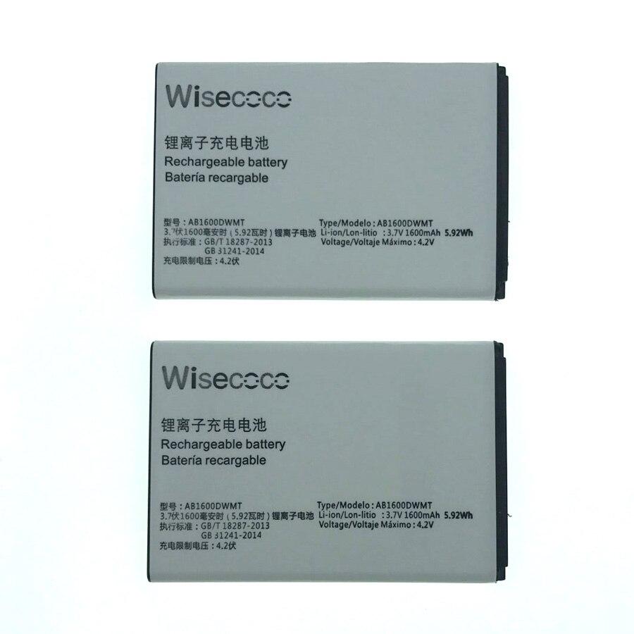 Wisecoco AB1600DWML/AB1600DWMT Batterie Pour PHILIPS S309 Smartphone/Smart Mobile téléphone + Numéro de Suivi