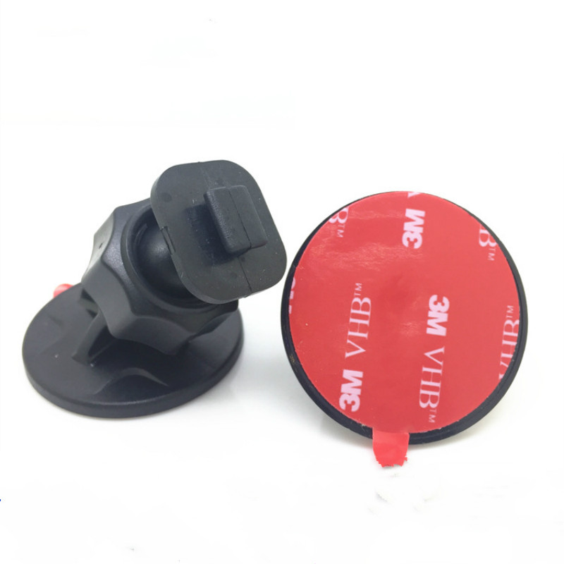 T Type Tape Recorder Base Stand Circle Double Side Stick Adhesive 3M Sticker Stander Mount Car Holder DVR GPS Rear Camera