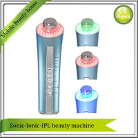3mhz Ultrasound Galvanic Ion Photon Cosmetic Facial Pores Cleaner Cleanser Skin Rejuvenation Wrinkle Removal Led Therapy