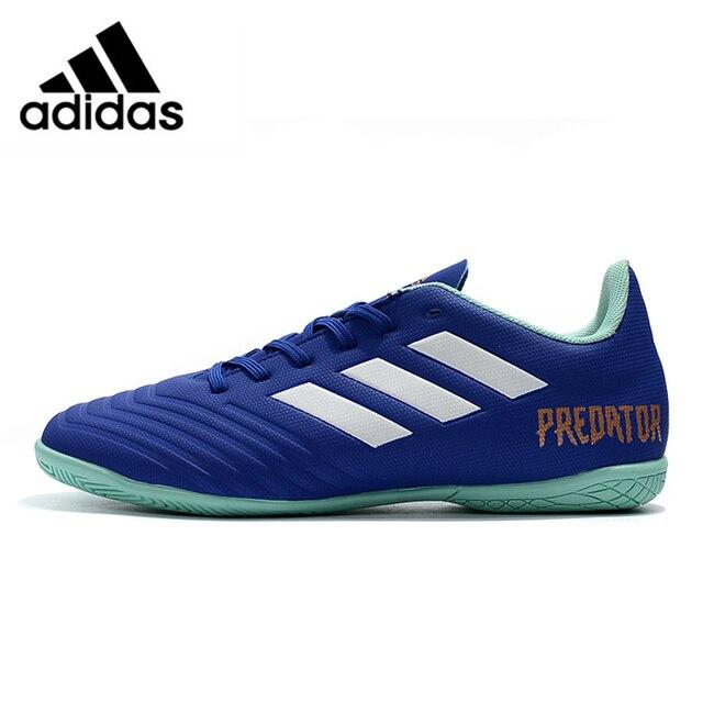 a892646ef8d Adidas Predator Tango 18.4 IN Falcon New Flat Bottom Men s Soccer Shoes  Training Football Shoes CP9277