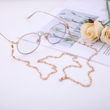 Dawapara Rose Gold Glass Chain For Women Jewelry Fashion Glasses Chain In Women's Eyewear