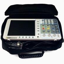New thin OWON 100Mhz Oscilloscope SDS7102 1G/s large 8″ LCD LAN+VGA+bag 3 yrs warranty
