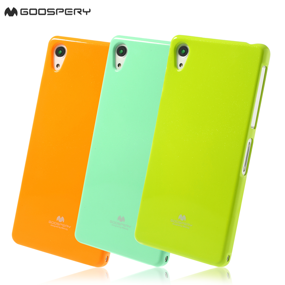 Mercury Goospery For Sony Xperia Z2 D6502 D6503 Green Glossy Pearl Samsung Note 9 N960 Jelly Case Powder Tpu Cover D6543 In Fitted Cases From
