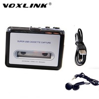 VOXLINK USB Cassette Capture Player Convertert Tape To MP3 Into PC Via Software For IPhone IPad