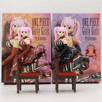 Anime One Piece CREATOR X CREATOR Girly Girls Perona PVC Figure Collectible Model Toy 16cm 2
