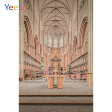 Yeele Scenery Photocall Gothic Church Interior Ins Photography Backdrops Personalized Photographic Backgrounds For Photo Studio