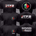 New Canada Elite Special Operations Force JTF2 Joint Task Force 2 Logo T shirt Black 2 Side Short Sleeve Tshirt Cotton ONeck Tee