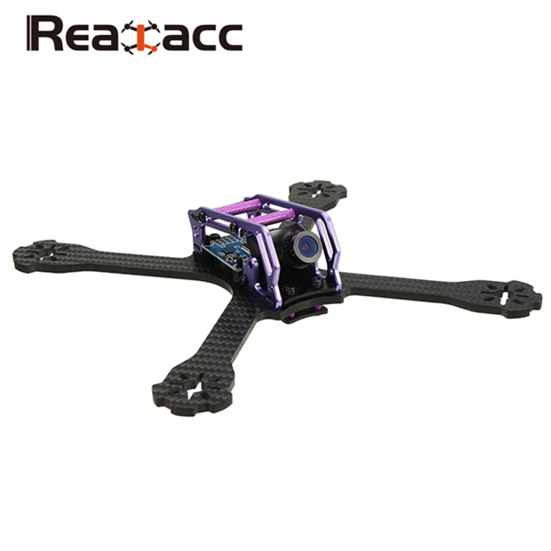Realacc BETA210 210mm 4mm Arm Thickness Carbon Fiber Frame Kit With PDB Board Battery Fixing Plate For FPV RC Racer Racing Drone full carbon hydrofoil plate fixing case