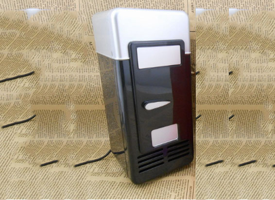 Car Refrigerator Heating Box Car Home Refrigerator USB Mini Refrigerator Household Refrigeration Hot Cold Cosmetic Preservation