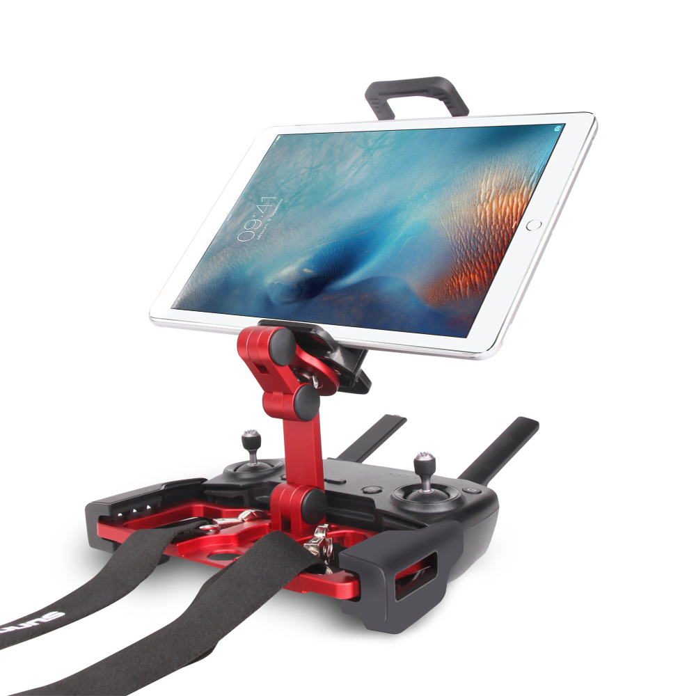 For IPad Tablet CrystalSky Remote Control Tablet Clip Aluminium Holder for DJI MAVIC PRO AIR SPARK