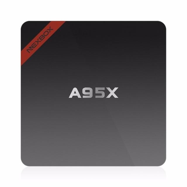 A95X 1GB/8GB Mini A95X Nexbox Set-top Box Android 5.1 Amlogic S905 Smart TV Box Quad-core 64bit KODI 16.0 4K Smart IPTV