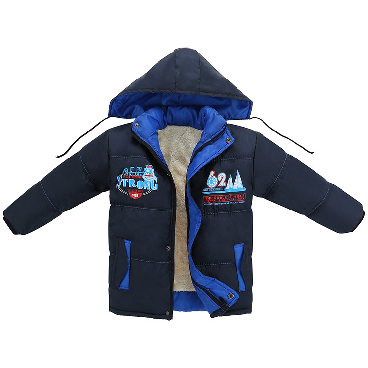 Warm Winter Coat Children Outerwear Kids Clothes Windproof Baby Boys Girls Jackets For 5-12 Years Old plamtee baby boys girls winter jacket 2017 brand candy color hooded warm coat zipper solid windproof outerwear for kids clothing