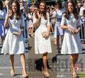 Vestidos 2015 kate middleton vestido de algodón blanco de la manera delgado recorte equipo jacquard vestido de bombeo vestido de verano freeshipping