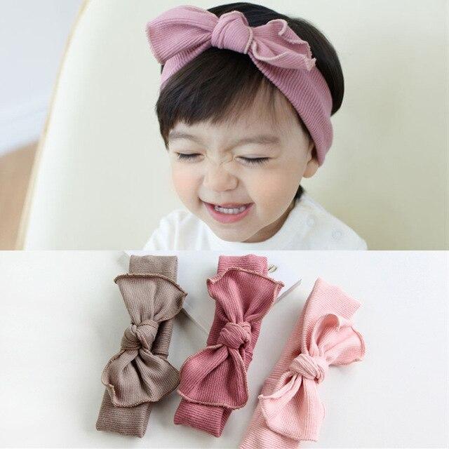De Nieuwe Mode Herfstwinter Kinderen Haar Accessoires Baby Haarband