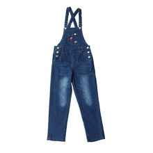 Get more info on the 2019 New Spring Autumn Kids Baby Girls Lovely Jeans Overalls Teenagers Denim Jeans Pants Infant Denim Girls Overalls Jumpsuit