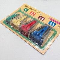 High Quality 1 Set Pcs Fabric Bias Tape Maker Sewing Binding Tools Household Tools Quilt Hemming