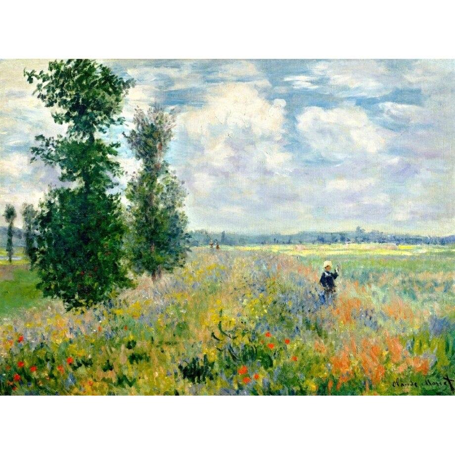 Fai da te pittura a olio di Monet Ninfee da colorare dai numeri pittura di arte della parete della pittura digitale dai numeri modulare