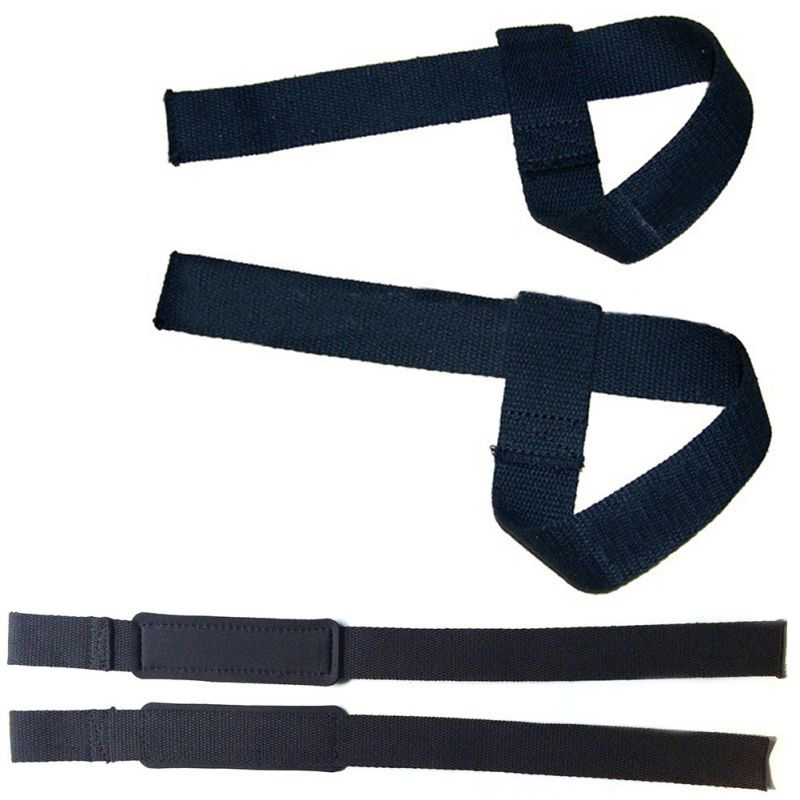 Padded Weight Lifting Training Gym Straps Hand Bar Wrist Support Gloves CA