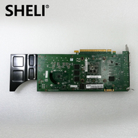 SHELI 89Y8627 Nvidia Quadro 4000 (Dual Link DVI, DP, DP, Stereo 3D) 2GB GDDR5 Video Card