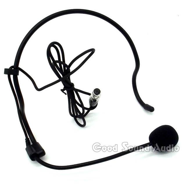 Online Shop 5pcs Mini Xlr 4 Pin Ta4f 4pin Plug Head Worn Ear Hook