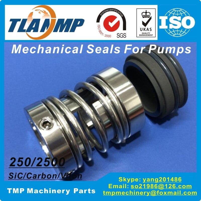 250-35, 2500-35, YJ-35 joints mécaniques pour pompes de l'industrie de teinture et de finition (matériau: SiC/carbone/Viton)
