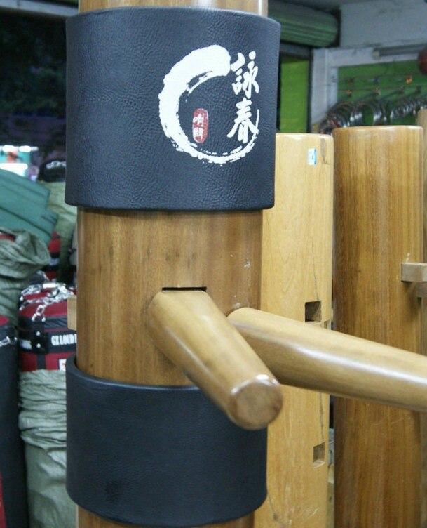 Haute Qualité Populaire Aile Chun Bruce Lee Ip Homme En Bois mannequin Tête Protéger Tapis Wing Stun Kung Fu Tapis 2 pièces