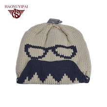 Factory Wholesale Winter Hats Glasses Knitted Caps For Men Women Sports Casual Cap Warm Ear Touca Ski Bonnet Beanie PA024