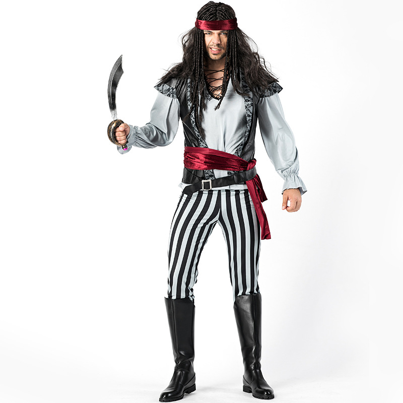 Adult Mens Scallywag Pirate Halloween Costume