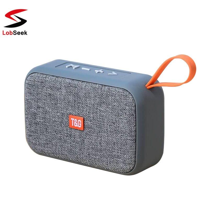 Mini Portable Speaker Bluetooth Outdoor Bicycle Wireless Column Box Loudspeaker FM TF Gift