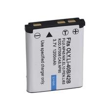 Li-40B Li 40B 42B Battery for Olympus Li-42B Lithium Ion Rechargeable Camera Battery Pack 1200mAh
