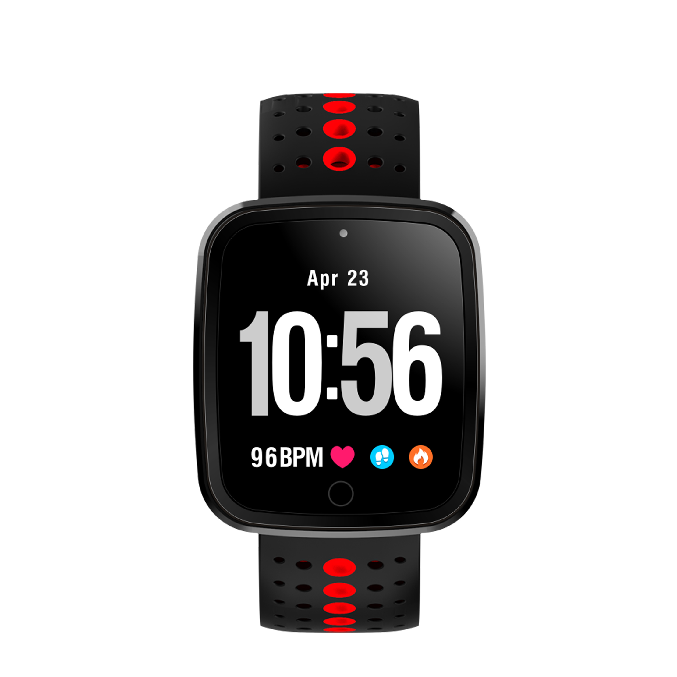 OGEDA Heart Rate Monitor Color OLED Sports Men Smart Watch Intelligent Fitness Tracker Smart Wristband Bracelet for Android IOS