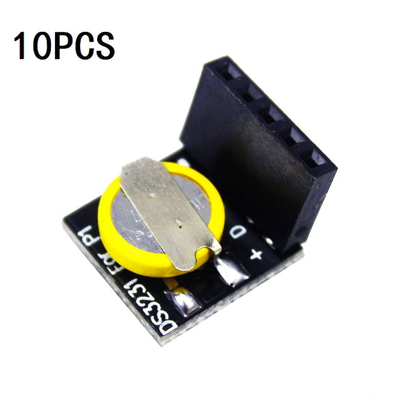 10PCS DS3231 Real Time Clock  Memory Module Precision RTC Module for Raspberry Pi NEW with battery ds3231n raspberry pi rtc board real time clock module for arduino red