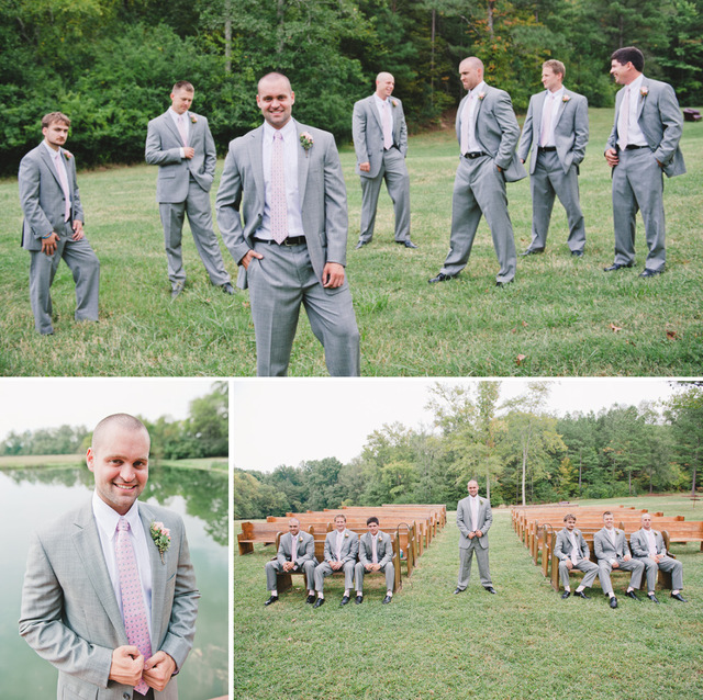 2016 Summer Gray Linen Men\'s Suits For Beach Wedding Slim Fit ...