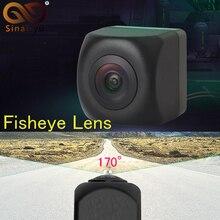 Greenyi задний, передний вид Камера SONY MCCD для Фиш Ай Ночное видение Водонепроницаемый IP68 для парковки задним ходом Камера Универсальный