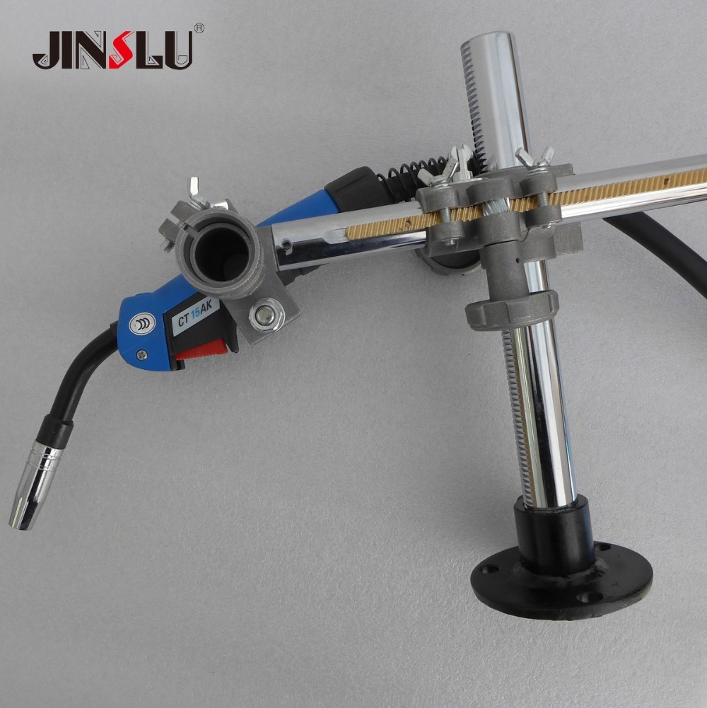 Support de torche de soudage support de pistolet Mig supports de serrage pour MIG MAG CO2 TIG poste de soudage positionneur de soudage plaque tournante